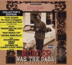 Snoop Dogg - Murder Was the Case CD Cover Art