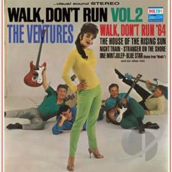 Ventures - Walk, Don't Run, Vol. 2 CD Cover Art