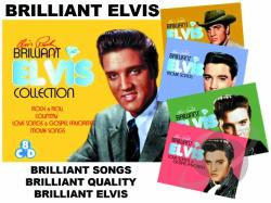 Presley, Elvis - Brilliant Elvis Collection CD Cover Art