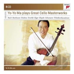 Ma, Yo-Yo - Yo-Yo Ma Plays Great Cello Masterworks CD Cover Art