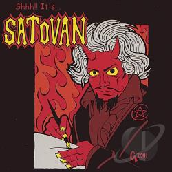 Satovan - Shhh!! It's Satovan CD Cover Art