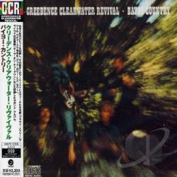 Creedence Clearwater Revival - Bayou Country CD Cover Art