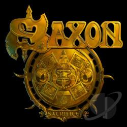 Saxon - Sacrifice CD Cover Art