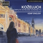 Kemp English / Kozeluch - Leopold Kozeluch: Complete Keyboard Sonatas, Vol. 2 CD Cover Art
