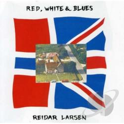 Larsen, Reidar - Red White & Blues CD Cover Art