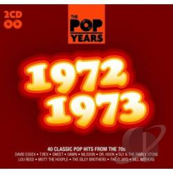 Pop Years: 1972-1973 CD Cover Art