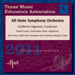 2011 Tmea All-State Symphony Orchestra - 2010 Texas Music Educators Association CD Cover Art