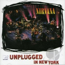 Nirvana - MTV Unplugged in New York CD Cover Art