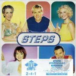 Steps - Steptacular CD Cover Art