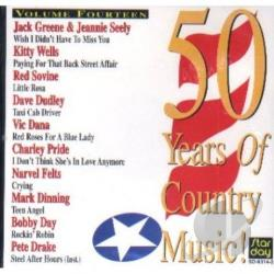 50 Years Of Country Music! Vol. 14 CD Cover Art