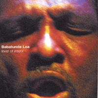 Babatunde - Level of Intent CD Cover Art