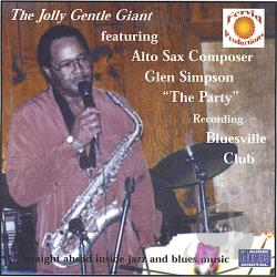 Simpson, Glen - Jolly Gentle Giants Jazz Party CD Cover Art