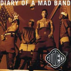 Jodeci - Diary of a Mad Band CD Cover Art