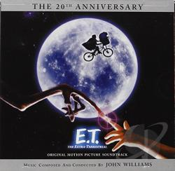 Williams, John - E.T. The Extra-Terrestrial CD Cover Art