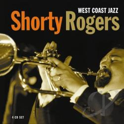 Rogers, Shorty - West Coast Jazz CD Cover Art