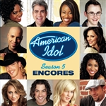 American Idol Season 5: Encores CD Cover Art