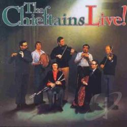 Chieftains - Chieftains Live CD Cover Art