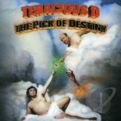 Tenacious D - Pick of Destiny CD Cover Art