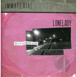 Lonelady - Immaterial LP Cover Art