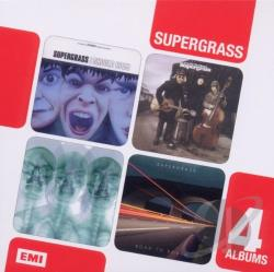 Supergrass - I Should Coco/In It for the Money/Supergrass/Road to Rouen CD Cover Art