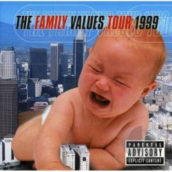 Family Values Tour '99 CD Cover Art