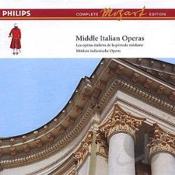Middle Italian Opera-Vol. 14 - Mozart: Middle Italian Operas CD Cover Art