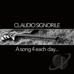 Signorile, Claudio - Song 4 Each Day.. CD Cover Art