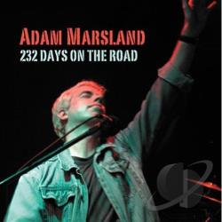 Marsland, Adam - 232 Days on the Road CD Cover Art