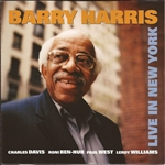 Harris, Barry - Live in New York CD Cover Art
