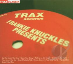 Knuckles, Frankie - Greatest Hits From Trax CD Cover Art
