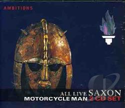 Saxon - Motorcycle Man: All Live CD Cover Art
