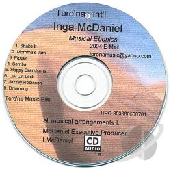 McDaniel, Inga - Musical Ebonics CD Cover Art