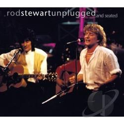 Stewart, Rod - Unplugged...and Seated CD Cover Art