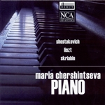 Chershintseva, Maria - Piano CD Cover Art