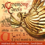 Britten, Benjamin - Ceremony of Carols CD Cover Art