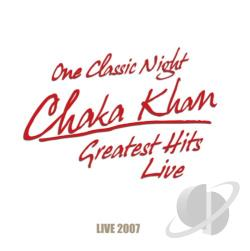 Khan, Chaka - Greatest Hits Live 2007 CD Cover Art