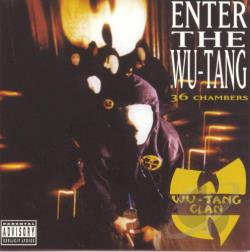 Wu-Tang Clan - Enter the Wu-Tang (36 Chambers) LP Cover Art