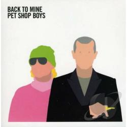 Pet Shop Boys - Back to Mine CD Cover Art
