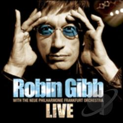 Gibb, Robin - Live CD Cover Art