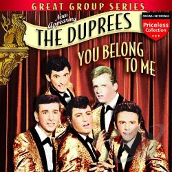 DuPrees - You Belong to Me CD Cover Art