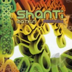 Shanti Matkin - Remixed CD Cover Art