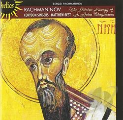 Corydon Singers - Rachmaninov: The Divine Liturgy of St. John Chrysostom CD Cover Art