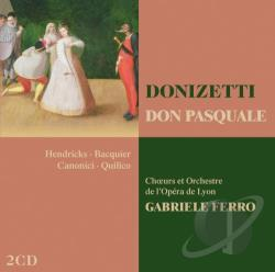 Donizetti / Ferro / Hendricks / Lyo / Quilico - Donizetti: Don Pasquale CD Cover Art