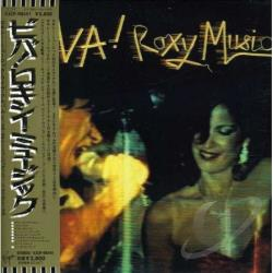 Roxy Music - Viva! Roxy Music CD Cover Art