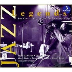 Various Artists - Jazz Legends - Jazz Legends CD Cover Art