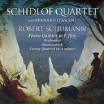 D'Ascoli / Schidlof / Schumann - Schidlof Quartet performs Schumann CD Cover Art