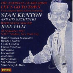 Kenton, Stan - Let's Go to Town CD Cover Art