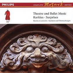 Mozart: Theatre And Ballet Music - Rarities & Surprises CD Cover Art