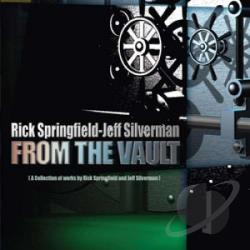 Silverman, Jeff / Springfield, Rick - From the Vault CD Cover Art