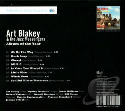 Blakey,  Art & The Jazz Messengers - Album of the Year CD Cover Art